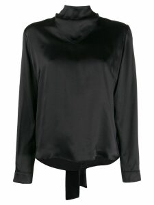 Le Kasha Kizil bow-fastened blouse - Black