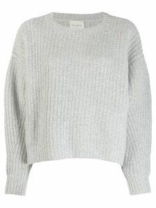 Le Kasha Turin cocoon knit jumper - Grey