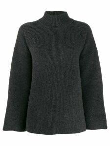 Le Kasha Antibes knit swing jumper - Grey