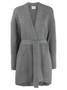 Le Kasha rome oversized cardigan - Grey