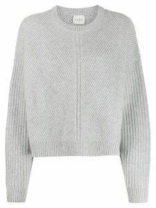 Le Kasha ribbed cashmere jumper - Grey