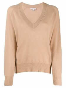 Equipment v-neck jumper - Brown