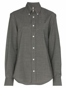 Sunflower button-down tailored shirt - Grey