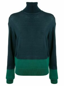 Y's turtle neck sweater - Blue