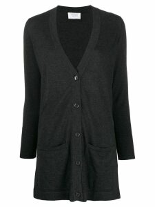 Snobby Sheep long button-up cardigan - Grey