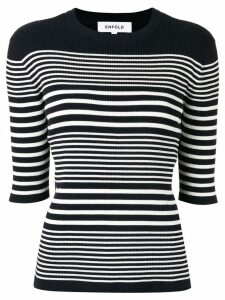 Enföld striped knitted top - Blue