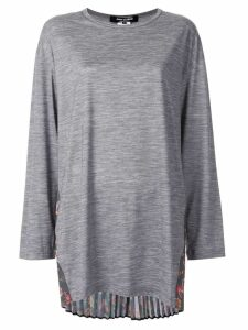 Junya Watanabe pleated back top - Grey