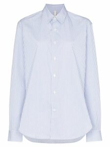 Sunflower Dan stripe-print shirt - Blue