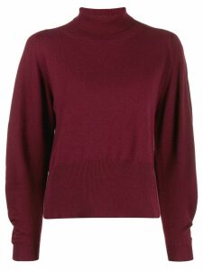 Fabiana Filippi roll-neck sweatshirt - Red