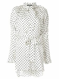 Blindness Dot print shirt - White