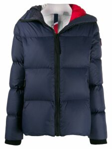 Rossignol logo patch padded jacket - Blue