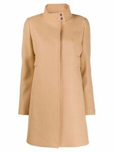 Liu Jo single-breasted midi coat - Neutrals
