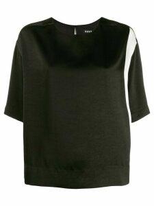DKNY monochrome T-shirt - Black
