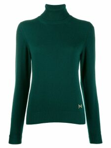 Barrie turtleneck cashmere jumper - Green