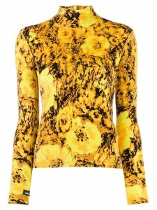 Richard Quinn knitted top - Yellow