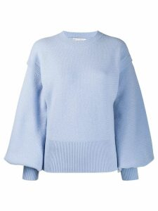 JW Anderson layered sleeves jumper - Blue