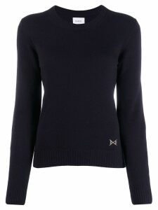 Barrie Round neck cashmere jumper - Blue