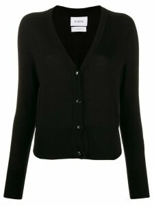 Barrie V-neck cashmere cardigan - Black