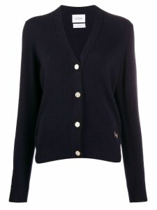 Barrie v-neck cashmere cardigan - Blue