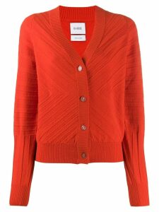 Barrie long sleeve cardigan - ORANGE