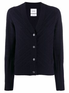 Barrie V-neck knit cardigan - Blue