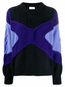 Barrie chunky knit jumper - Blue