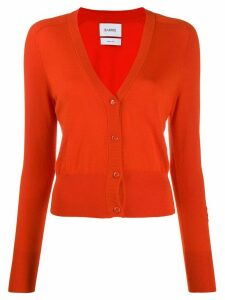 Barrie V-neck cashmere cardigan - Orange