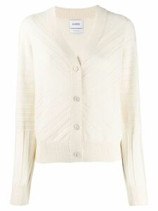 Barrie long sleeve cardigan - White