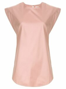 Lee Mathews drawstring shoulder blouse - PINK
