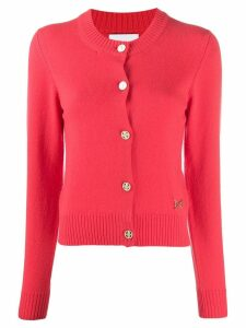 Barrie long sleeve cardigan - PINK