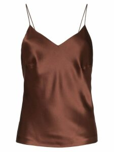 Deitas Chloe open-back top - Brown