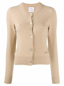Barrie round neck cardigan - Brown