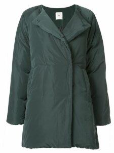 Kuho collarless padded coat - Green