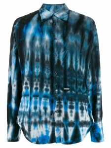 Dsquared2 tie-dye print shirt - Blue