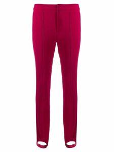 Moncler Grenoble stirrup detail leggings - Pink