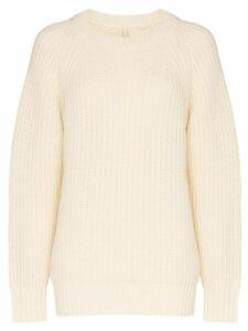 Sunflower Sailor chunky knit jumper - 010 WHITE
