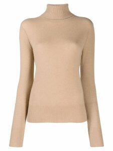 Equipment roll-neck jumper - NEUTRALS