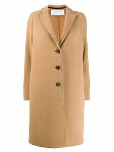 Harris Wharf London single breasted coat - Neutrals