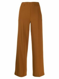 Aspesi cropped trousers - Brown