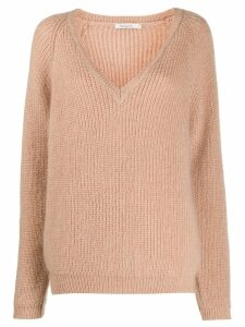 Mes Demoiselles v-neck jumper - PINK