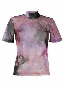 Ssheena tie-dye blouse - Black