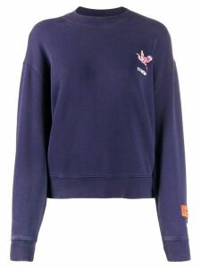 Heron Preston Heron embroidery sweatshirt - Blue