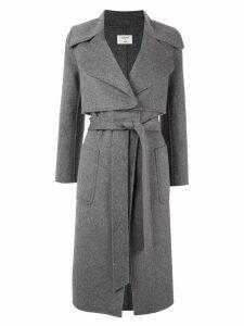 Onefifteen belted trench coat - Grey