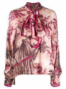 F.R.S For Restless Sleepers Alethia printed blouse - Red