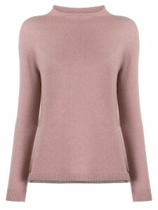 Fabiana Filippi round-neck knit sweater - PINK