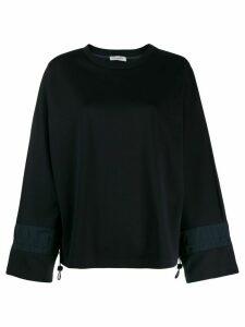 Peserico bell sleeves sweatshirt - Blue