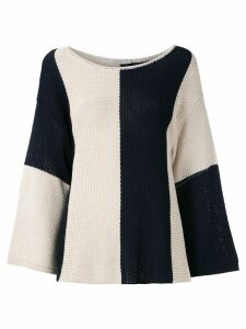 Alcaçuz Noriko jacquard knit blouse - Multicolour