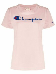 Champion embroidered logo T-shirt - PINK