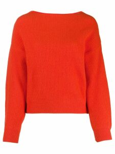 Bellerose ribbed knit sweater - ORANGE