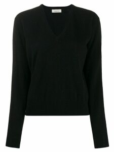 Laneus V-neck sweater - Black